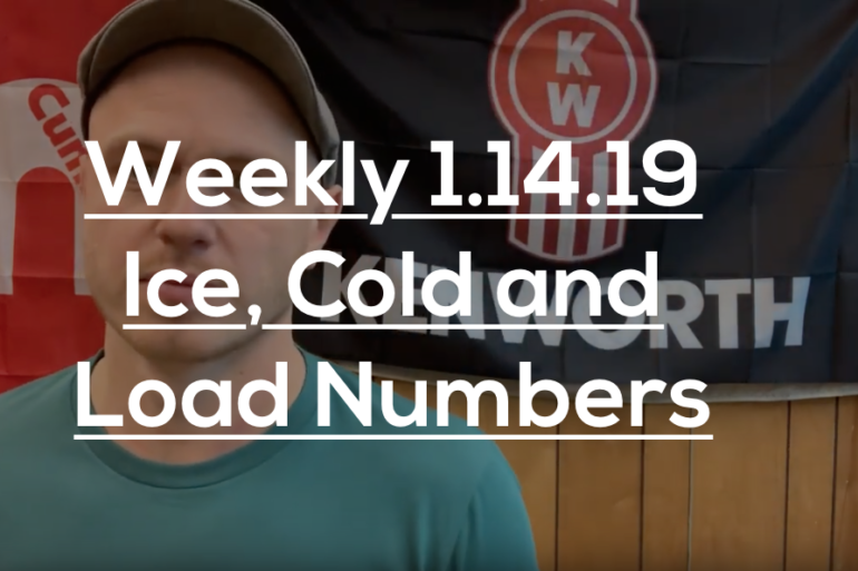 Weekly 1.14.19 Ice, Cold And Load Numbers