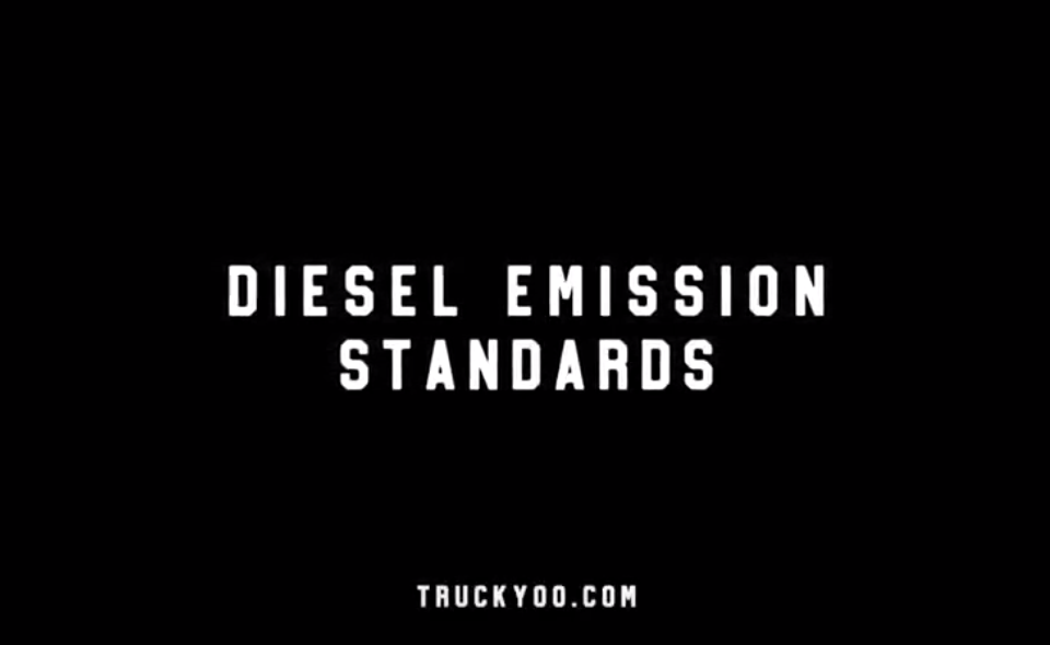 Semi Truck Emission Standards